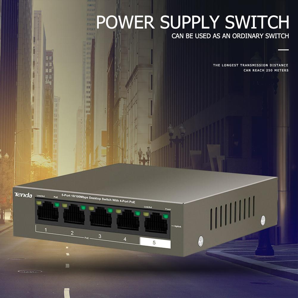Renkforce 5 PORT FAST ETHERNET SWITCH