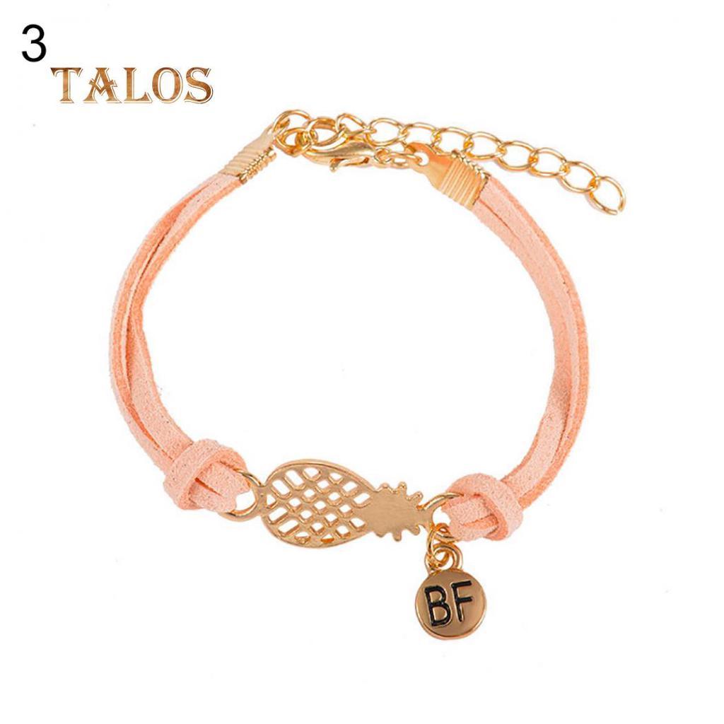 Personnalité lèvres rouge Bracelets Pour Femmes Long Tassel réglable bracelet