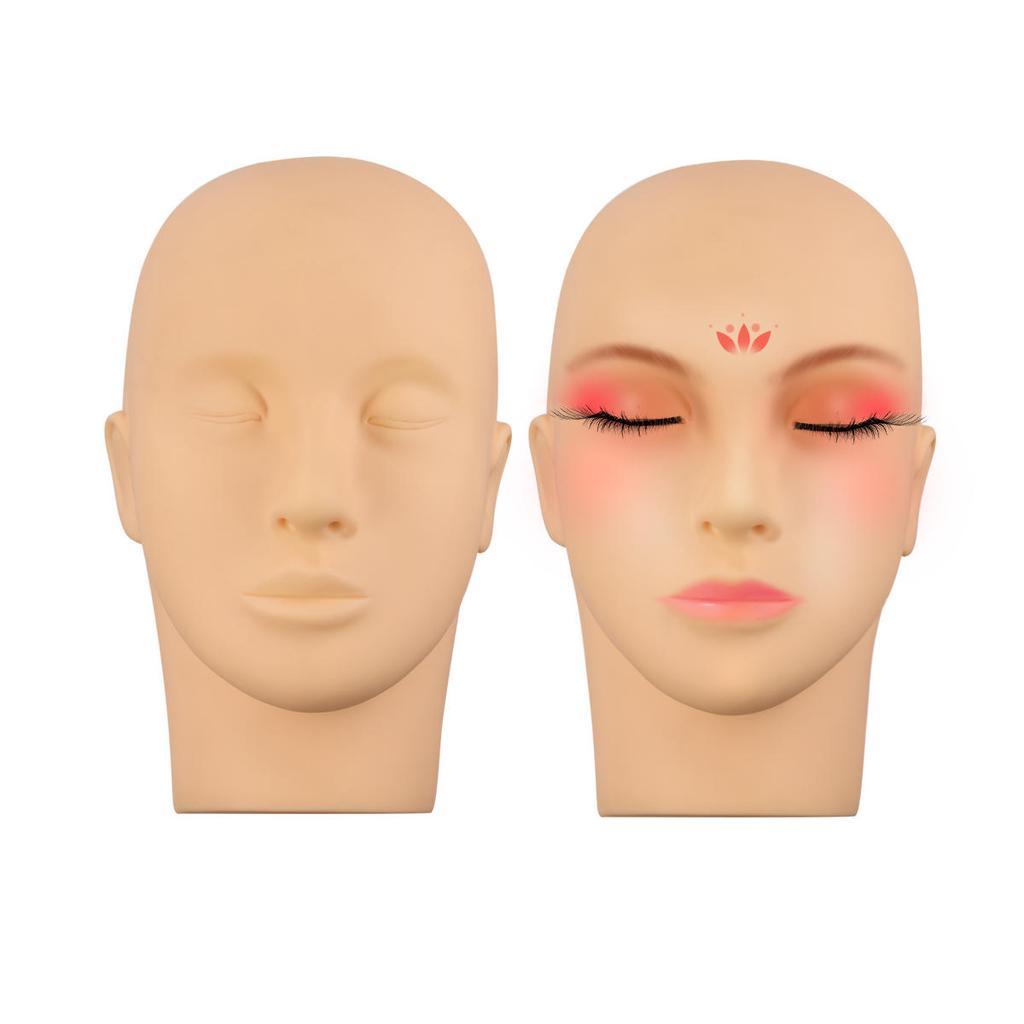 Mannequin Head For Makeup Practice