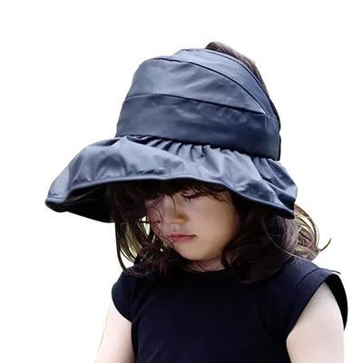 Long lace Boys Girls Straw Hats Summer Sun Hats for Child Children Beach Hats 100/% Handmade Kids Sunscreen Cap