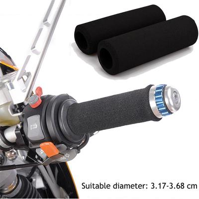 2Pc Soft Foam Sponge Anti-slip MTB Bike Cycle Bicycle Handle Handlebar Bar Grips