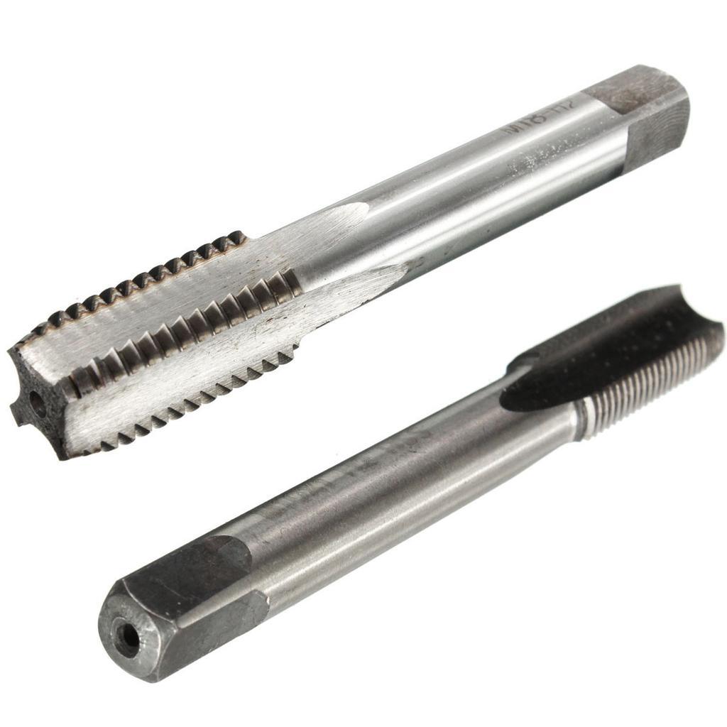 3PCS HSS Metric Right hand Thread Tap Set Machine Taper M14 15 16  Drill Bits