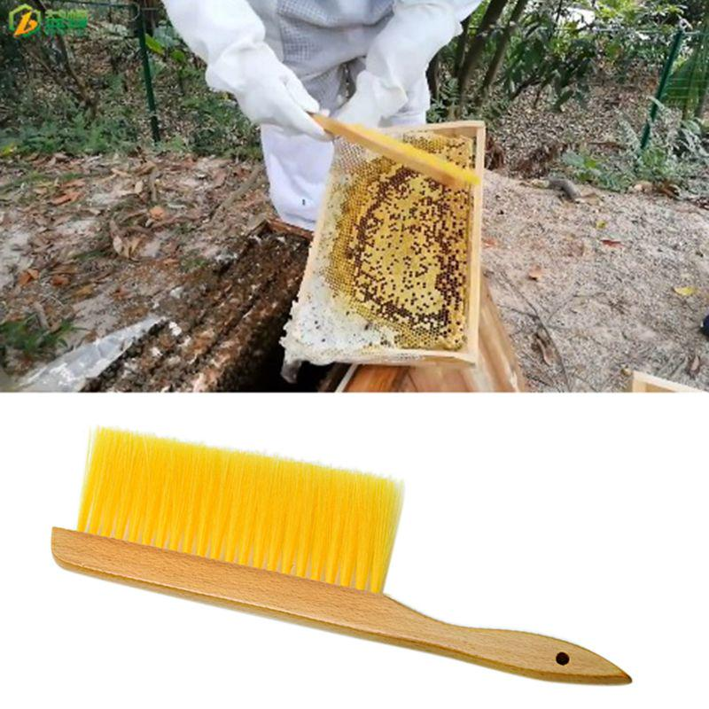 1Pcs Bee Tool Beekeeping Brush Equipment Beekeeper Tools Catcher Hive Tool