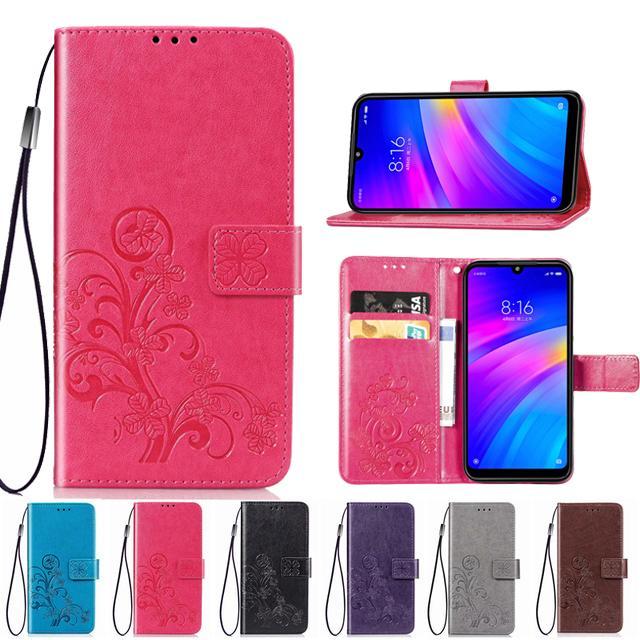 Телефон случае бумажник флип Чехол для Xiaomi Mi 8 Lite А1 А2 Redmi Примечание 4 5 4 X 5А Pro 6 7 5 плюс