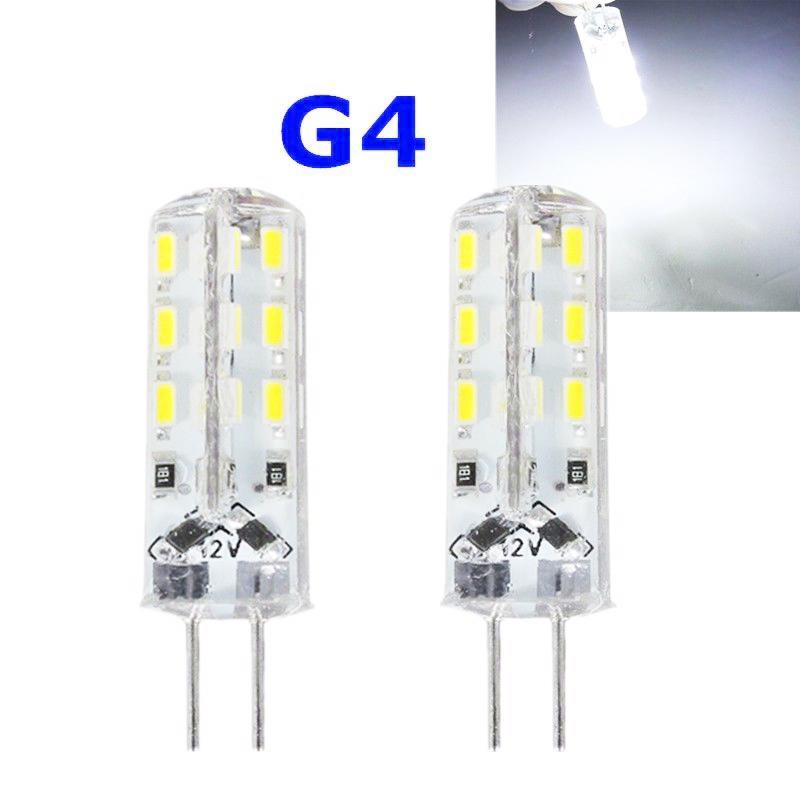 G4 24 Leds 3014 Chip Silicon Light Lamp Bulb 3W 360 Degree