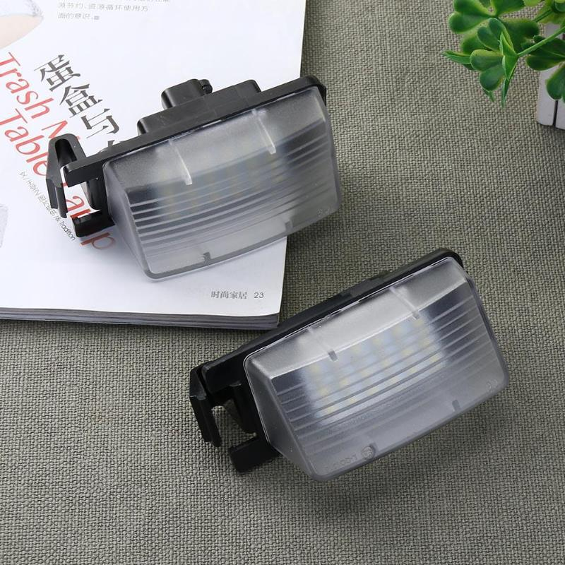 Nummer nummernschild licht 2 Stück 2 Stück Auto 3W Aufladen led-lampe