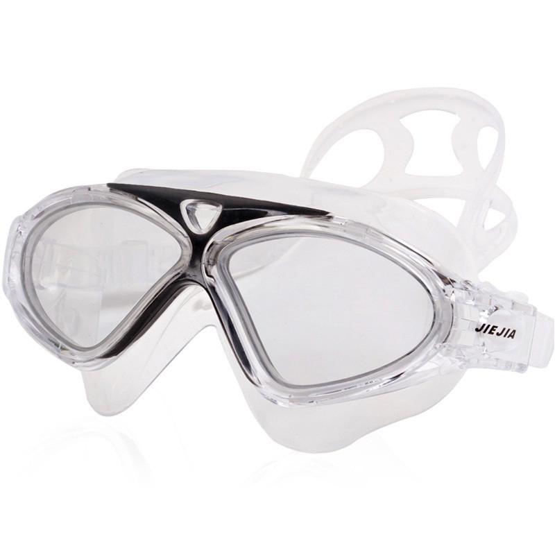 Blue JIEJIA Adjustable Anti fog UV Waterproof Swimming Goggles Glasses