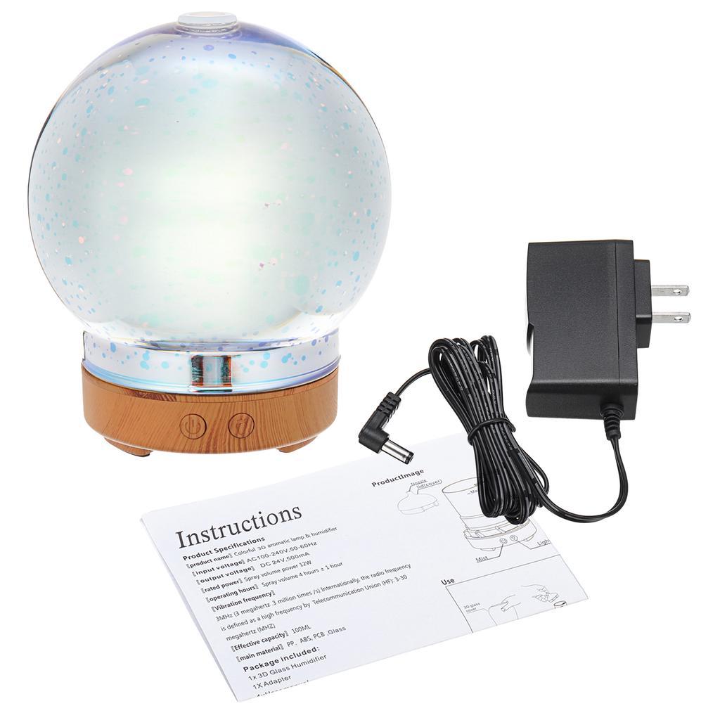 Aroma Diffuseur 100 ml coloré Humidificateur à ultrasons Aroma Diffuseur//Aromathérapie