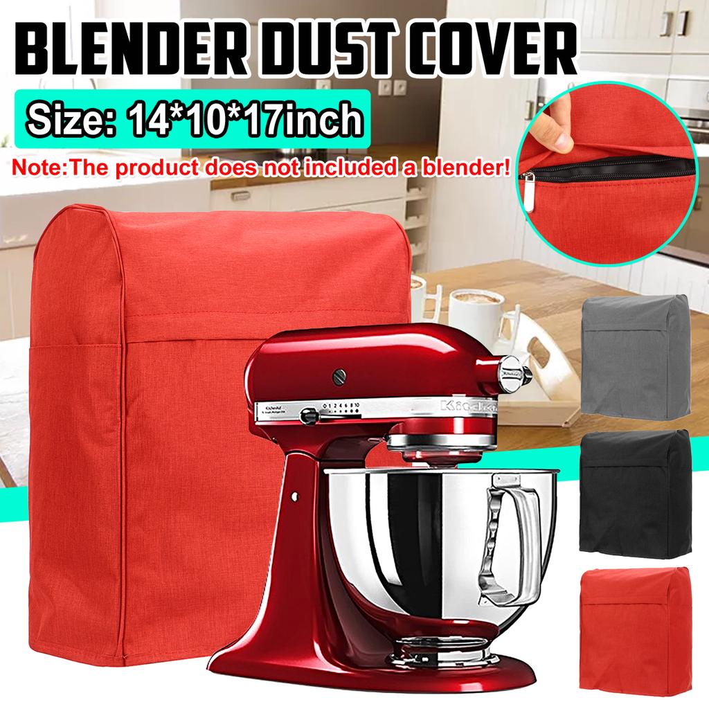 Home Kitchen Food Dust Cover Clean Black For Mixer Cover