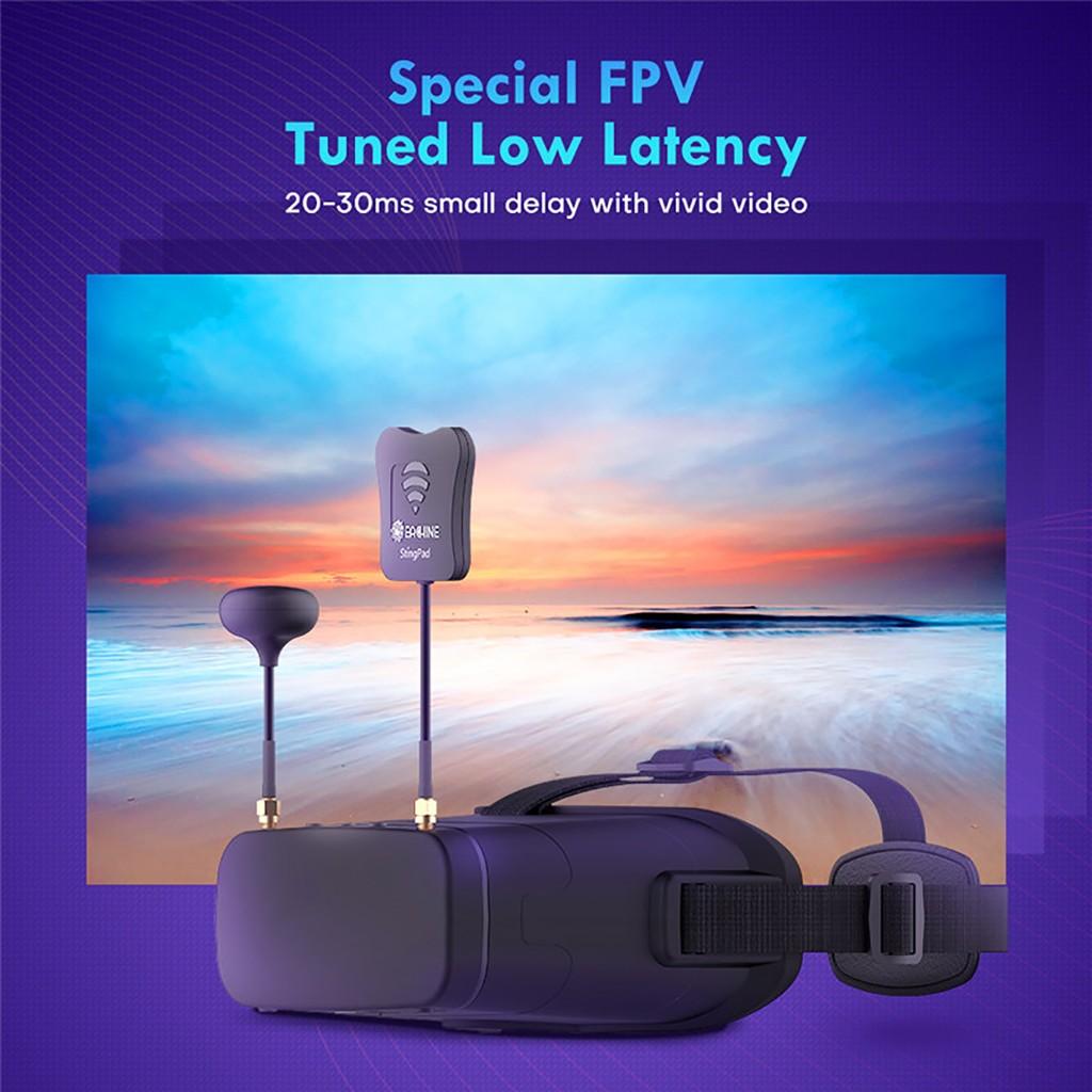 Eachine EV800DM Varifocal 5.8G 40CH Diversity FPV Goggles with HD DVR 3 Inch 900