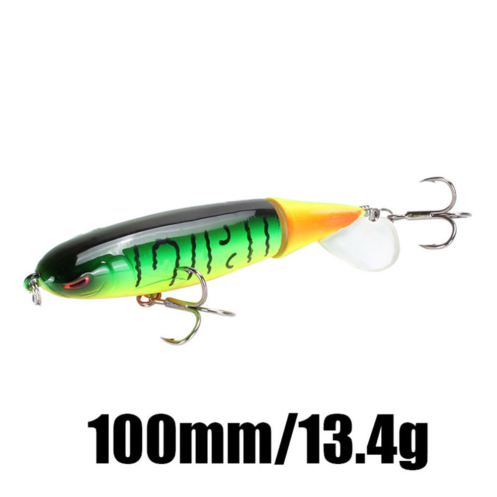 1pcs Fishing Topwater Lures Fishing Lure Rotating Tail Bait Pike Tackle