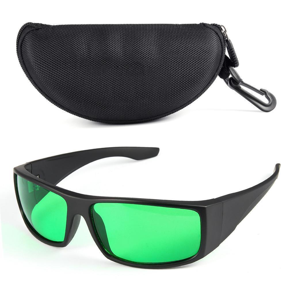 LED Grow Light Glasses Indoor Hydroponic Room Plant Visual Eye Protection LJ