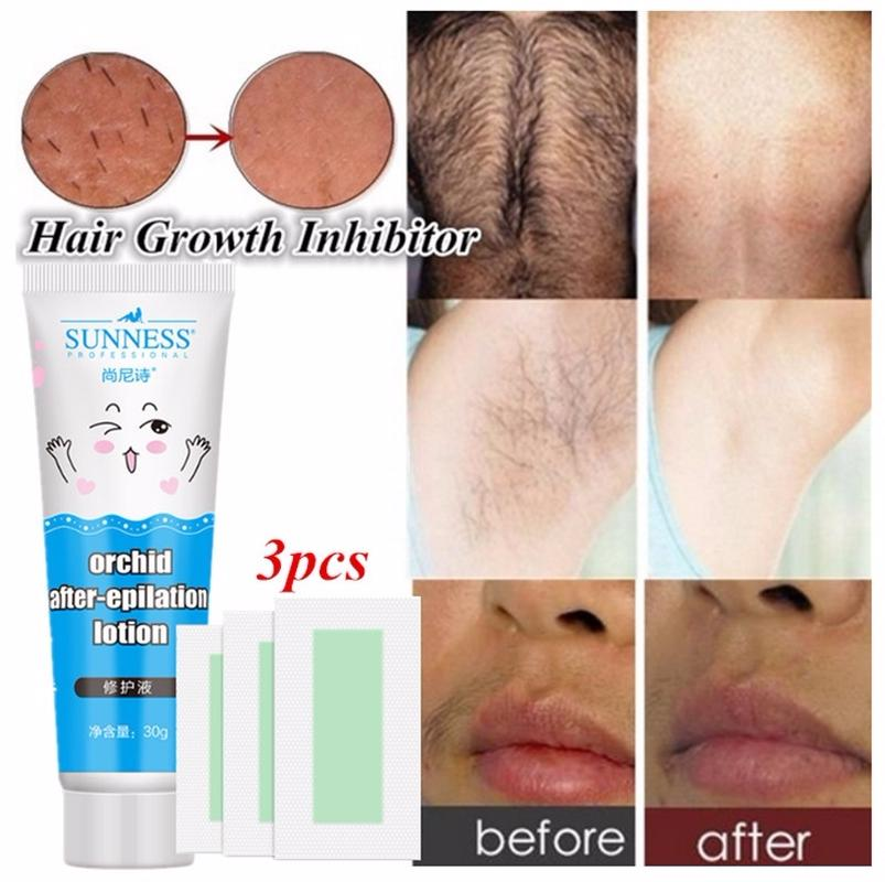 Herbal Hair Growth Inhibitor After Hair Removal Repair Nourish