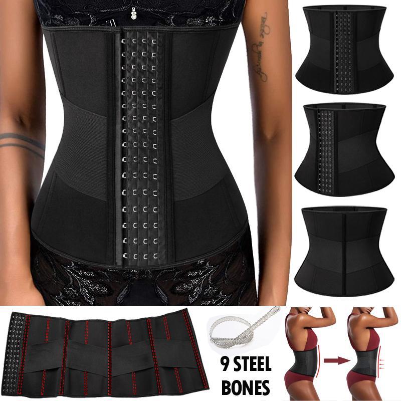 Details about  /Women Ladies Slimming Waist Trainer Cincher Sauna Sweat Belt Sport Body Shaper