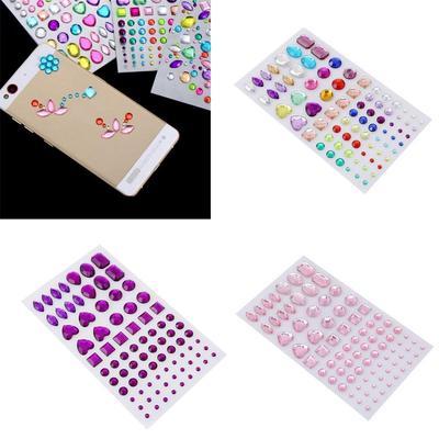 Self Adhesive Rhinestone Sticker Bling Craft Jewels Crystal Gem Stickers 7f3f971f3c01