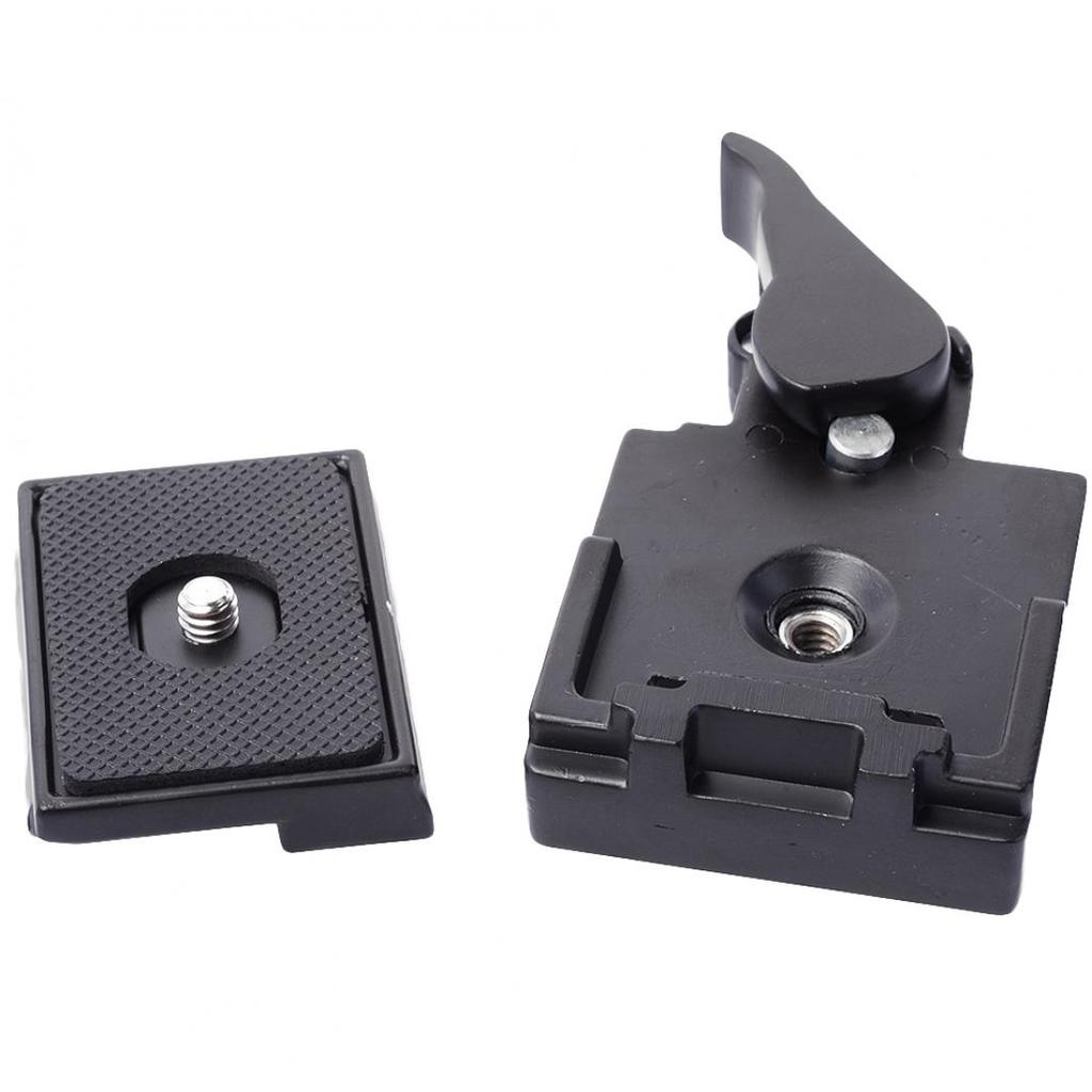Universal 323 Quick Release Plate Clamp Adapter Manfrotto 200PL-14 Camera Tripod