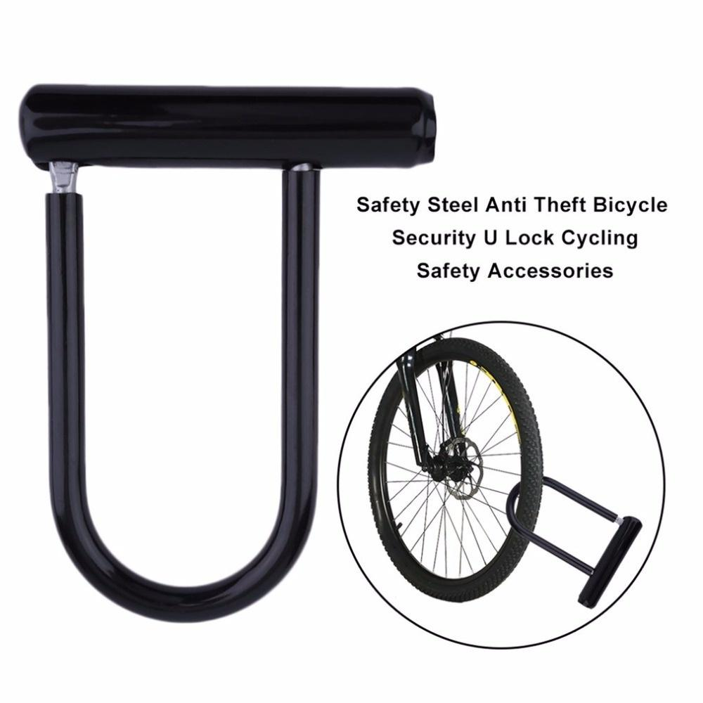 Bike Bicycle Motorcycle Cycling Scooter Security Steel Chain U Lock Shackle