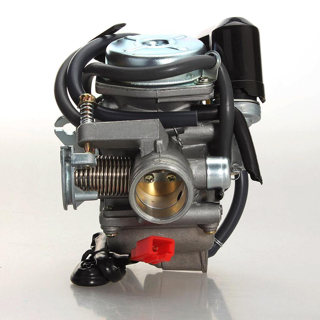 24mm Carburetor+Air Filter Scooter GY6 125cc 150cc ATV Go Kart Dirt pit Bike