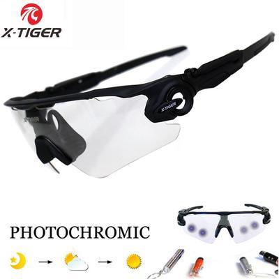8c33fd77f0 Bicicleta ciclismo MTB deportes al aire libre fotosensibles bicicleta  lentes gafas de sol gafas de polarizado