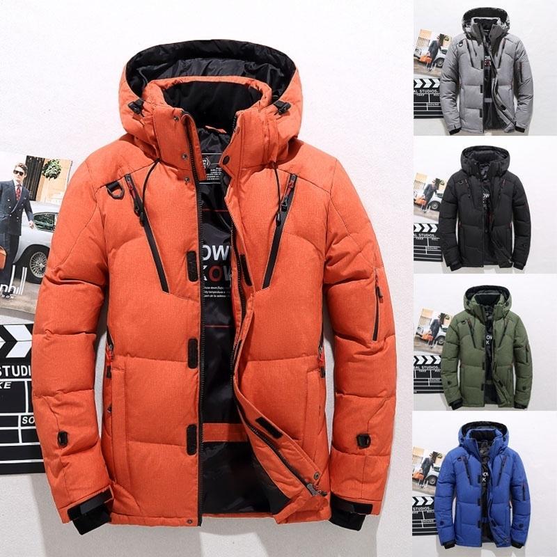 Зимняя мужская куртка с капюшоном – купить по низким ценам в интернет-магазине Joom