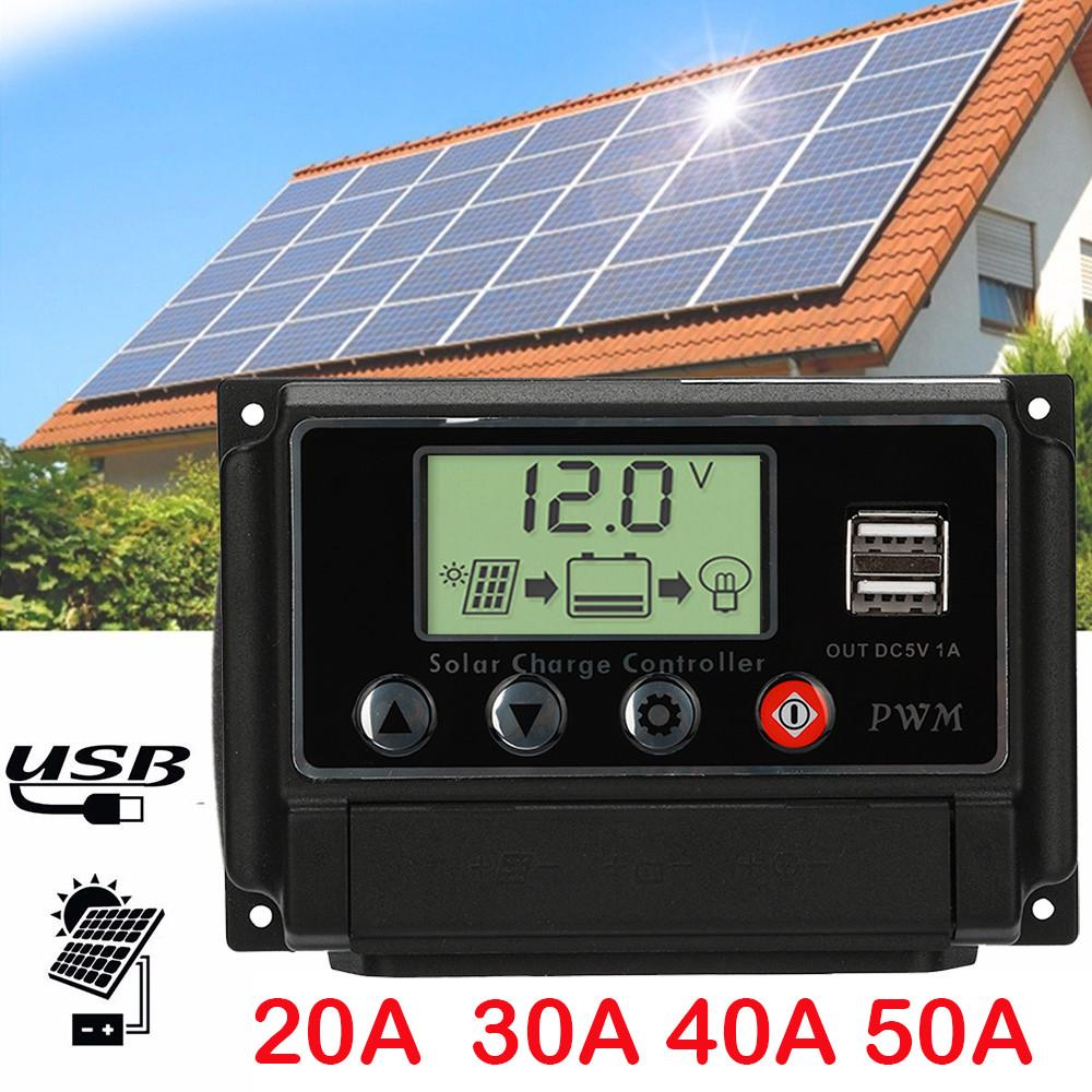 250W Folding Monocrystalline USB Solar Panel Connector 20//50A Controller 18V