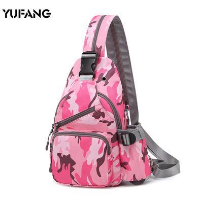 551e4d862344 2019 новая сумка леди мини-Оксфорд холст груди Pack Корейское издание Tide  отдыха сотен крест