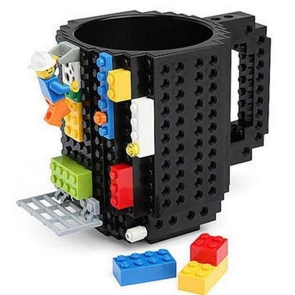 Напиток изделия Build-On Кирпич кружка DIY Блок кружка кружка Build-On Кирпич кружка кофе Кубок фото