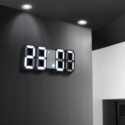LED Clock Alarm USB Charge Electronic Digital Clocks Wall Horloge 3D Digital Display Table Desktop Clocks