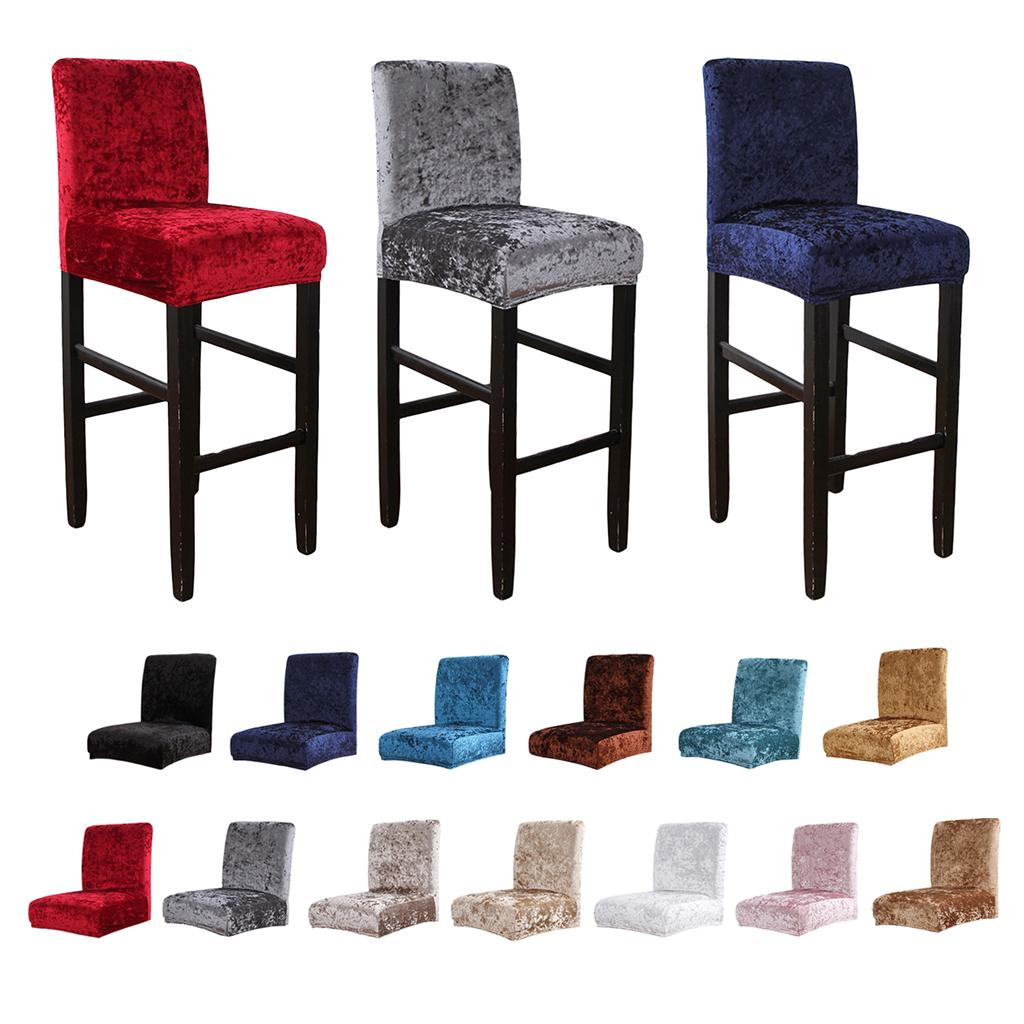 Short Low Back Chair Cover Dining, Curved Back Dining Room Chair Covers
