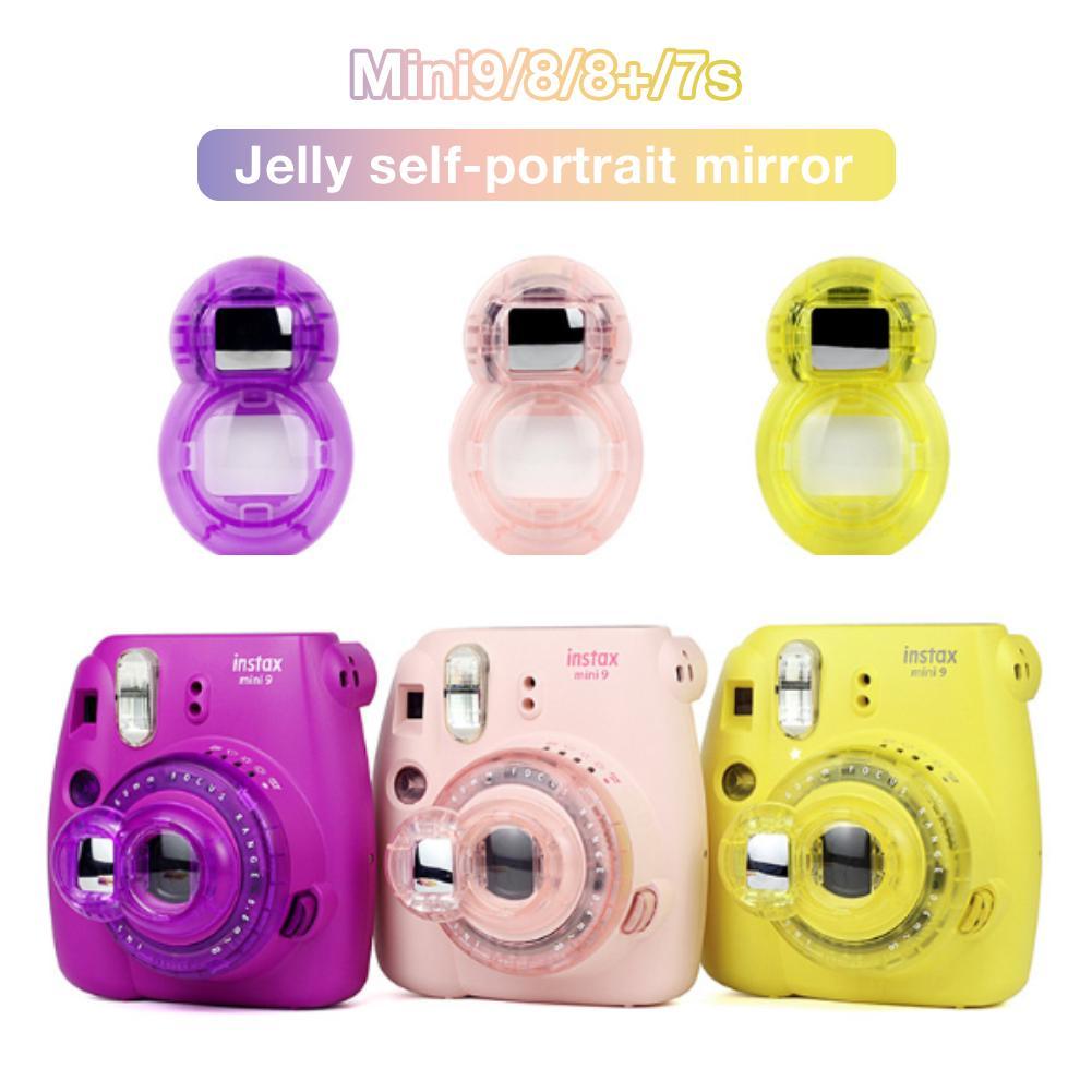 Luminous Silicone Camera Case for Fujifilm Polaroid Instax Mini 8//8+//9 Pink