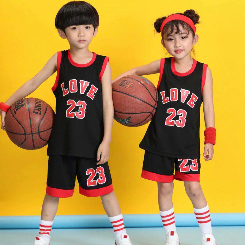 Child Youth Kids Blank Basketball Jerseys Uniforms Sports Clothes Kits Boys Training Sets-buy at a low prices on Joom e-commerce platform