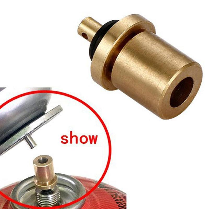 Camping & Hiking Outdoor Stoves Outdoor Camping Gas Stove Adapter Three-leg Transfer Head Adaptor For Nozzle Gas Bottle Screwgate Stove Gear Accessories Hot