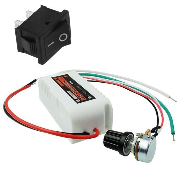 New CCMFC 12V 2A DC Motor Speed Controller Adjustable Variable Speed Switch