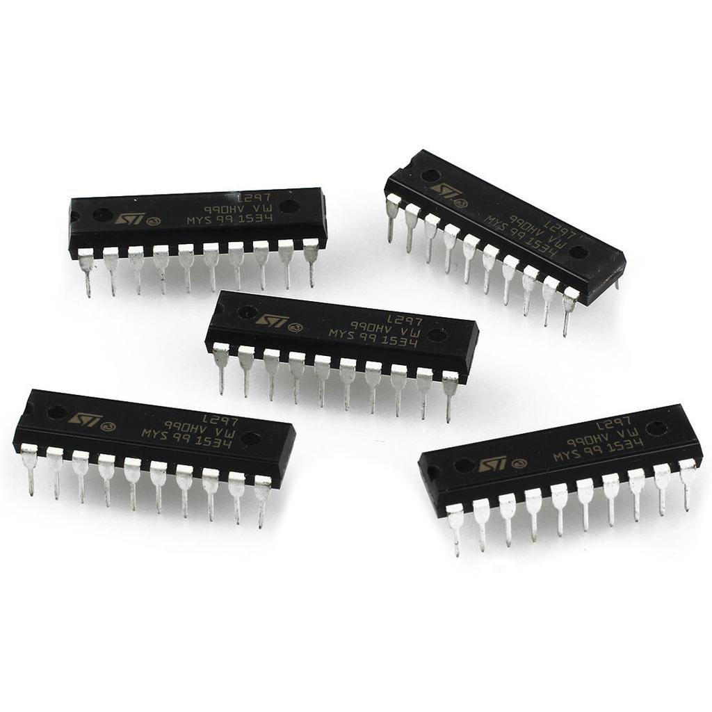 10Pcs ST CHIP IC L297 Stepper Motor Ctrlr Dip-20  NEW High quality