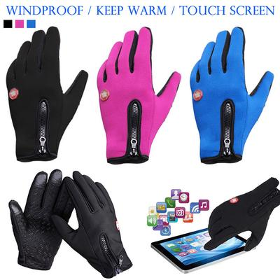 Winter Touch Screen Gloves Outdoor Ski Drive Warm Windproof Waterproof Men Women