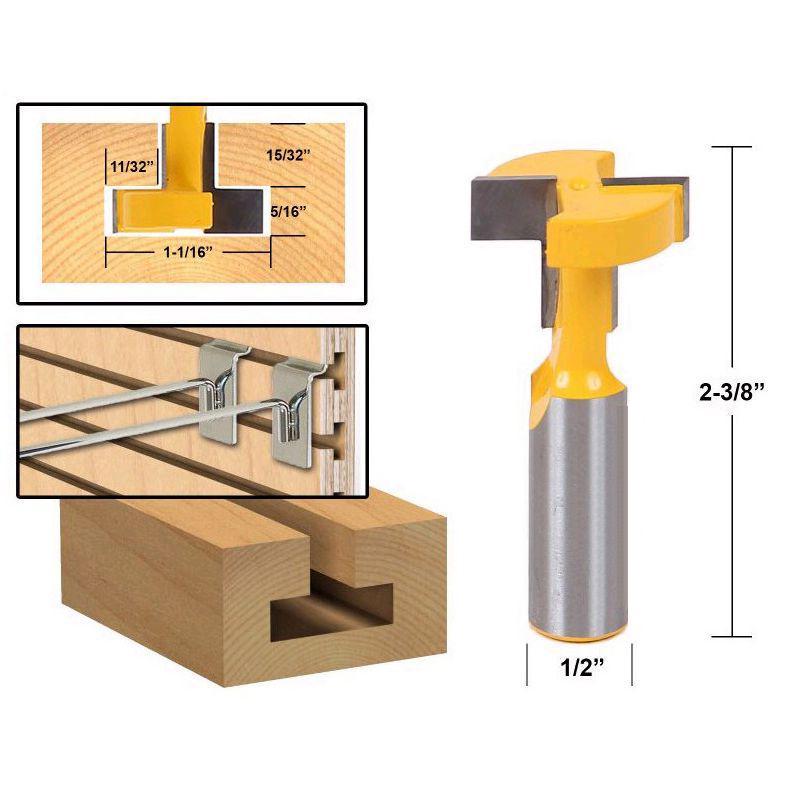 Nouveau 12 mm tige Flush Trim Router Bit pour bois menuiserie outils électriques