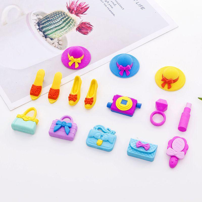 Musical Instrument Rubber Eraser Student Stationery for Gift school supply ER