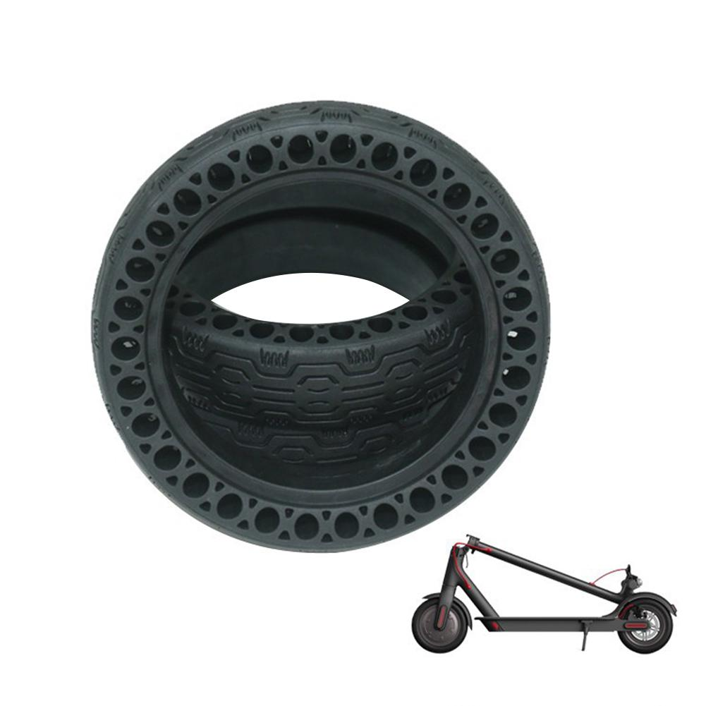 Xiaomi M365 Pro Solid Rear Tire Non-Pneumatic Shock Absorb Honeycomb V3