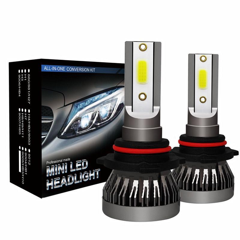 H7 200W 20000LM COB LED Headlight Kit High Power Low Beam Fog Bulbs 6500K White