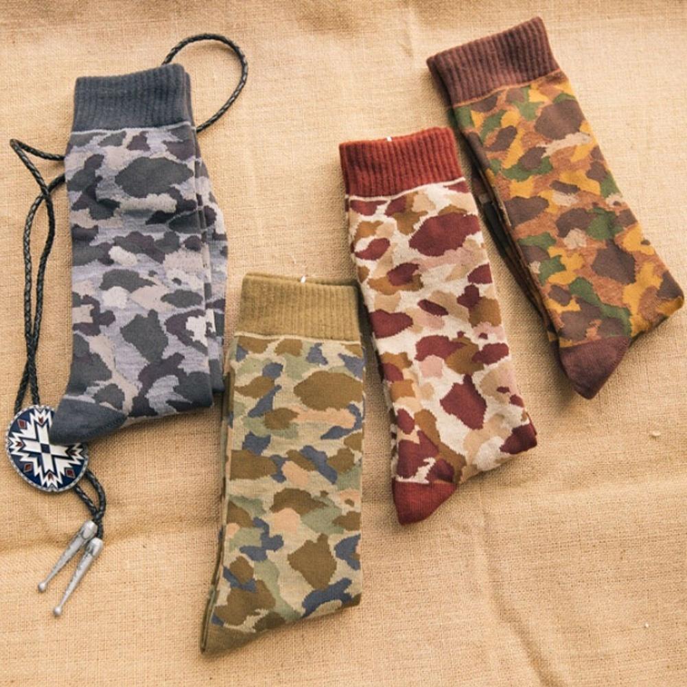bueno bastante baratas colores y llamativos BAPE tendencia Harajuku algodón hombres calcetines clásicos calcetines  calcetines de camuflaje