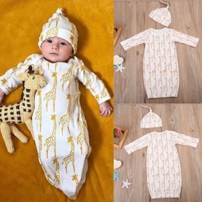 0ee210f15 Newborn Baby Boys Girls Deer Long Sleeve Blanket Sleeping Bag ...