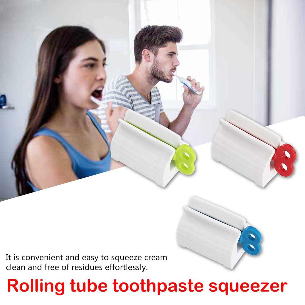 3pcs Stainless Steel Tube Toothpaste Squeezer Key Wringer Easy Squeeze Tool US