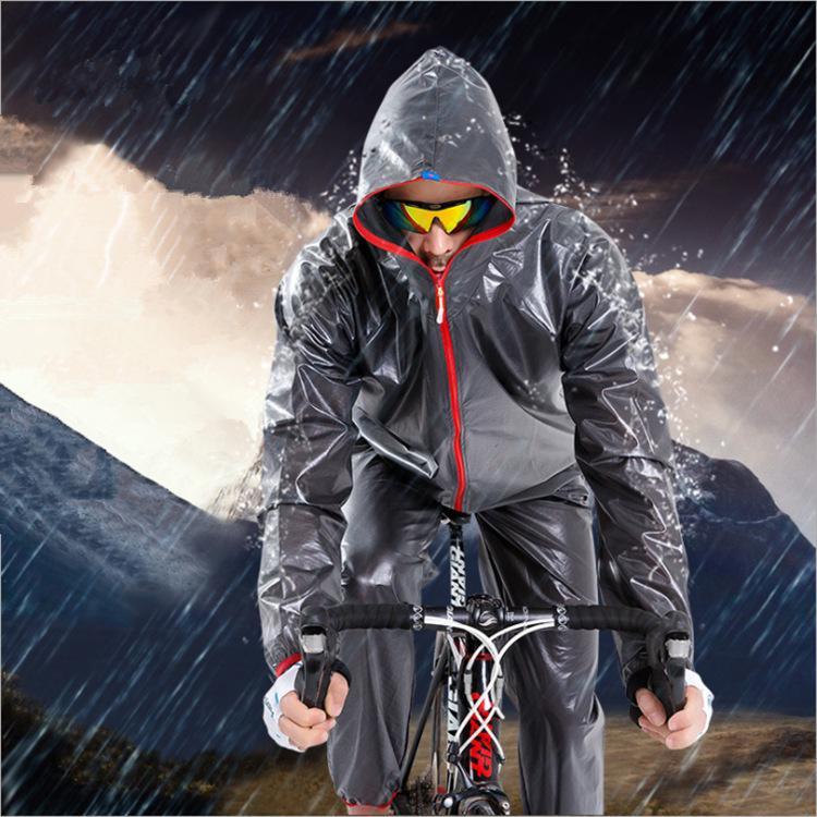 Men Women Windproof Waterproof Jacket Cycling Outdoor Sports Rain Coat Hooded
