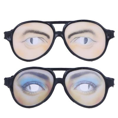 697c861916 Creative Funny Costume Eye Glasses Toy Halloween Party Prop Gag Gift ...