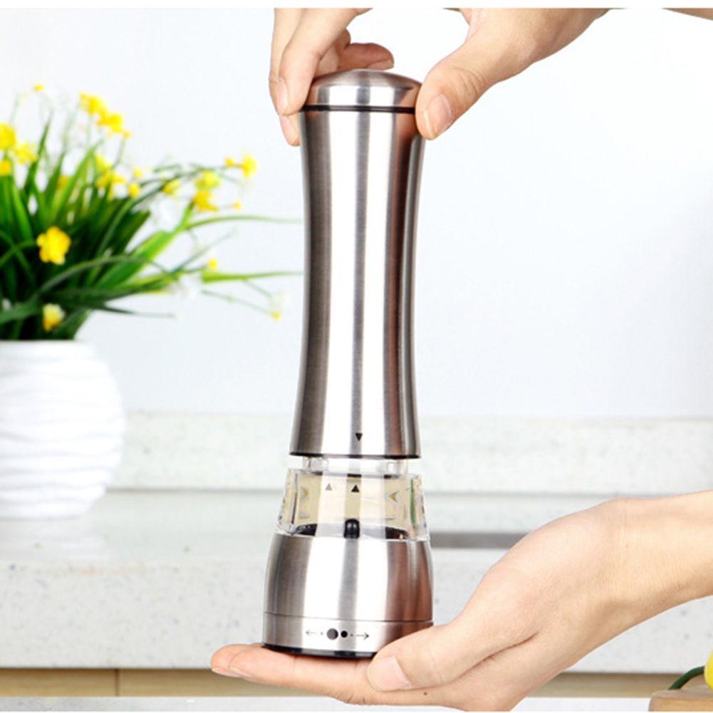 3pcs Adjustable Pepper Grinder Spice Coarse Salt Mill Shaker Tool Herb Crusher
