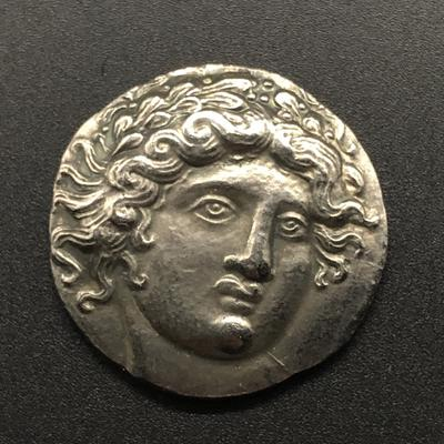 Ancient Greek Silver Coin Student Gift