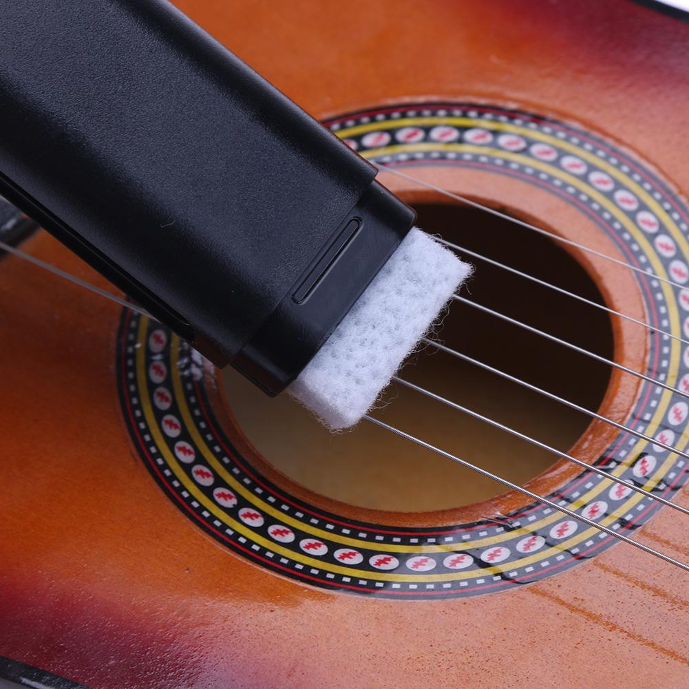 Guitar Bass Rust Cleaning Tool String Fingerboard Cleaner Lubricant Polish Stringed Instruments Musical Instruments