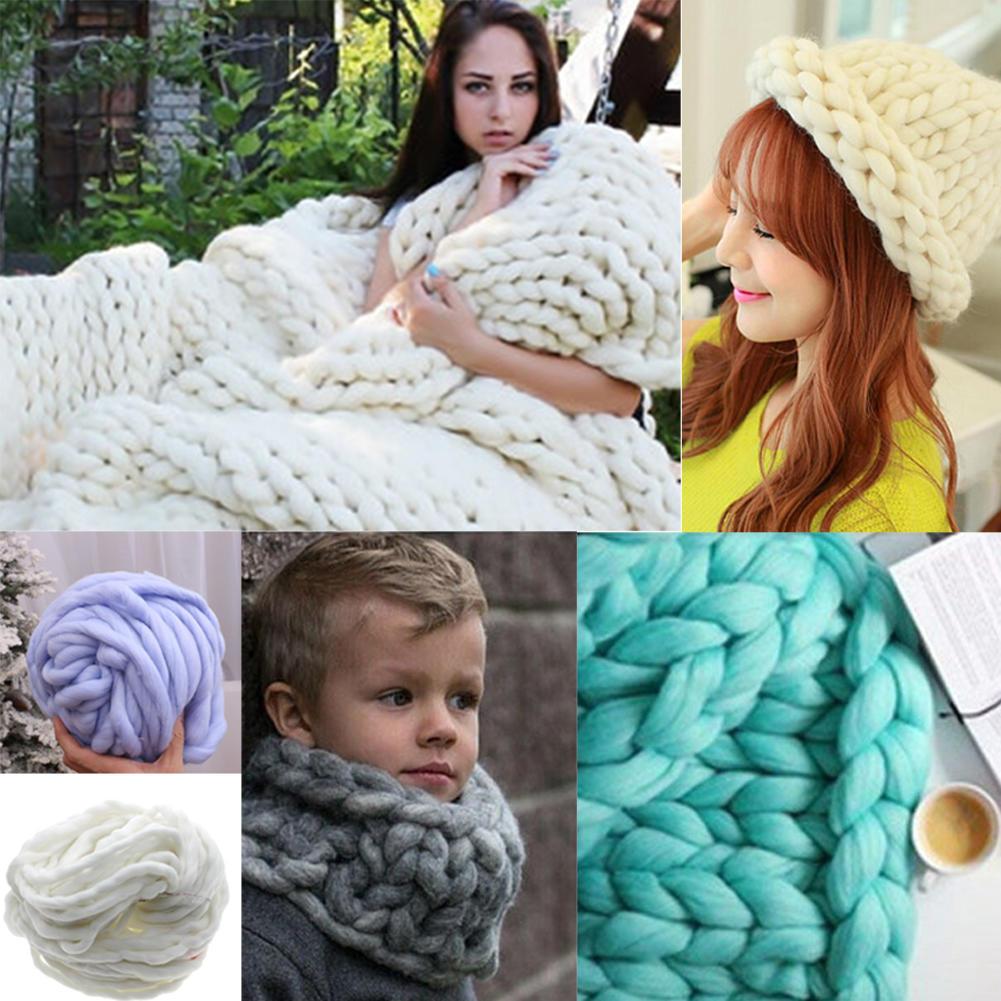 Chunky Wolle Garn superweich sperrige Arm stricken Wolle Roving DIY ...