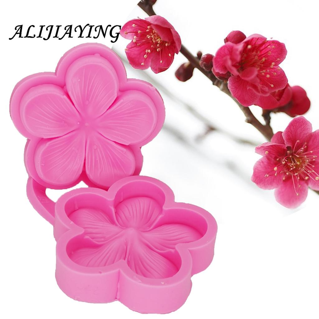 Lace Leaf Flower Silicone Mold Fondant Cake Cupcake Decorating Tools Soap Mold Flexible Mold Silicone Mould