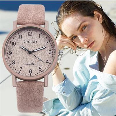 GOGOEY Simple Digital Ladies Quartz Watch Fashion Matte High Quality Brand Watch